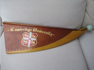 Cambridge University Bow of Boat Wall Display