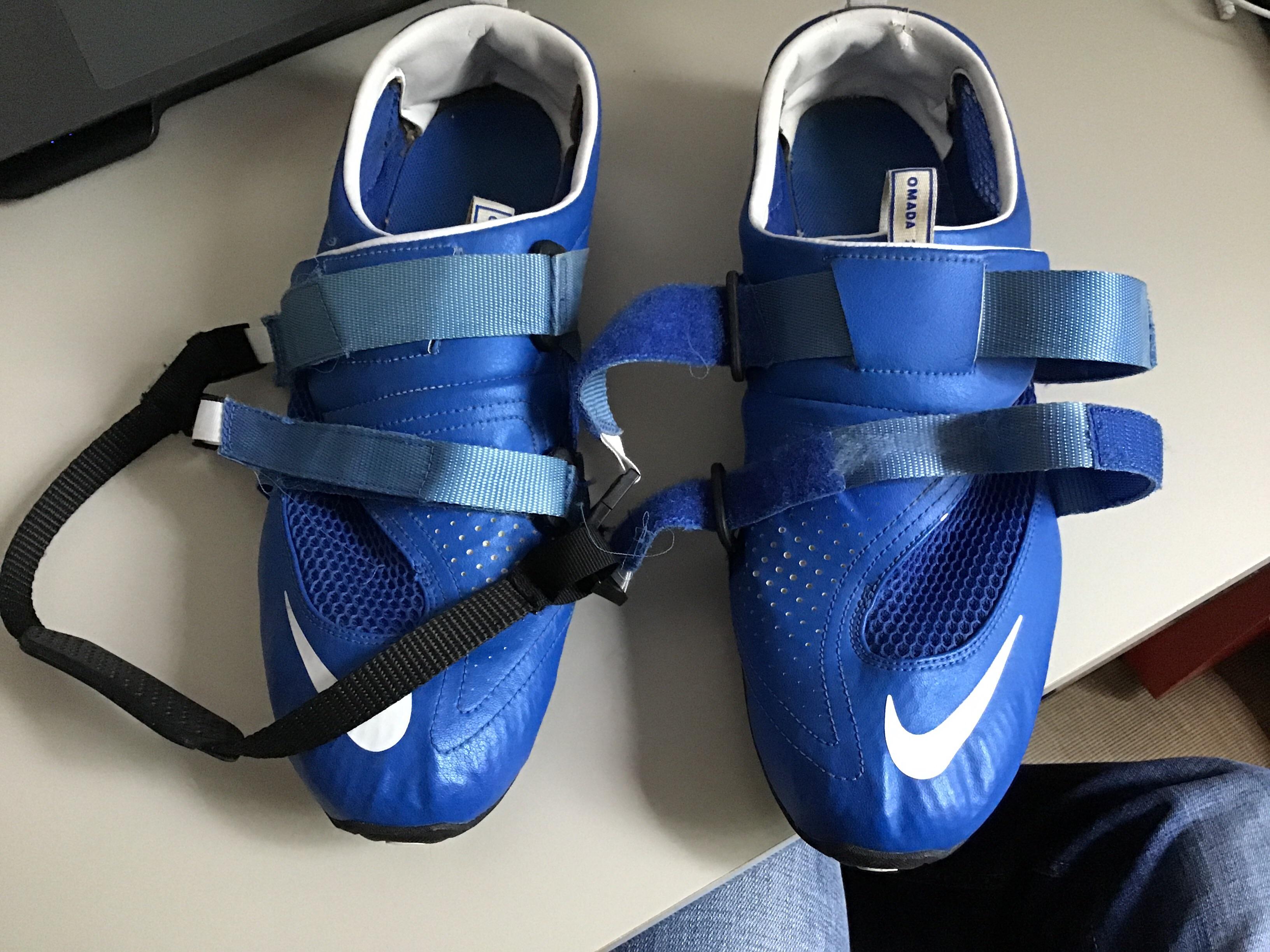 Pair of Nike Omada 2 Rowing Shoes Size UK14/US15