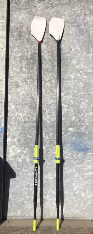Concept 2 'Fat2 Blade' Sculling Oars