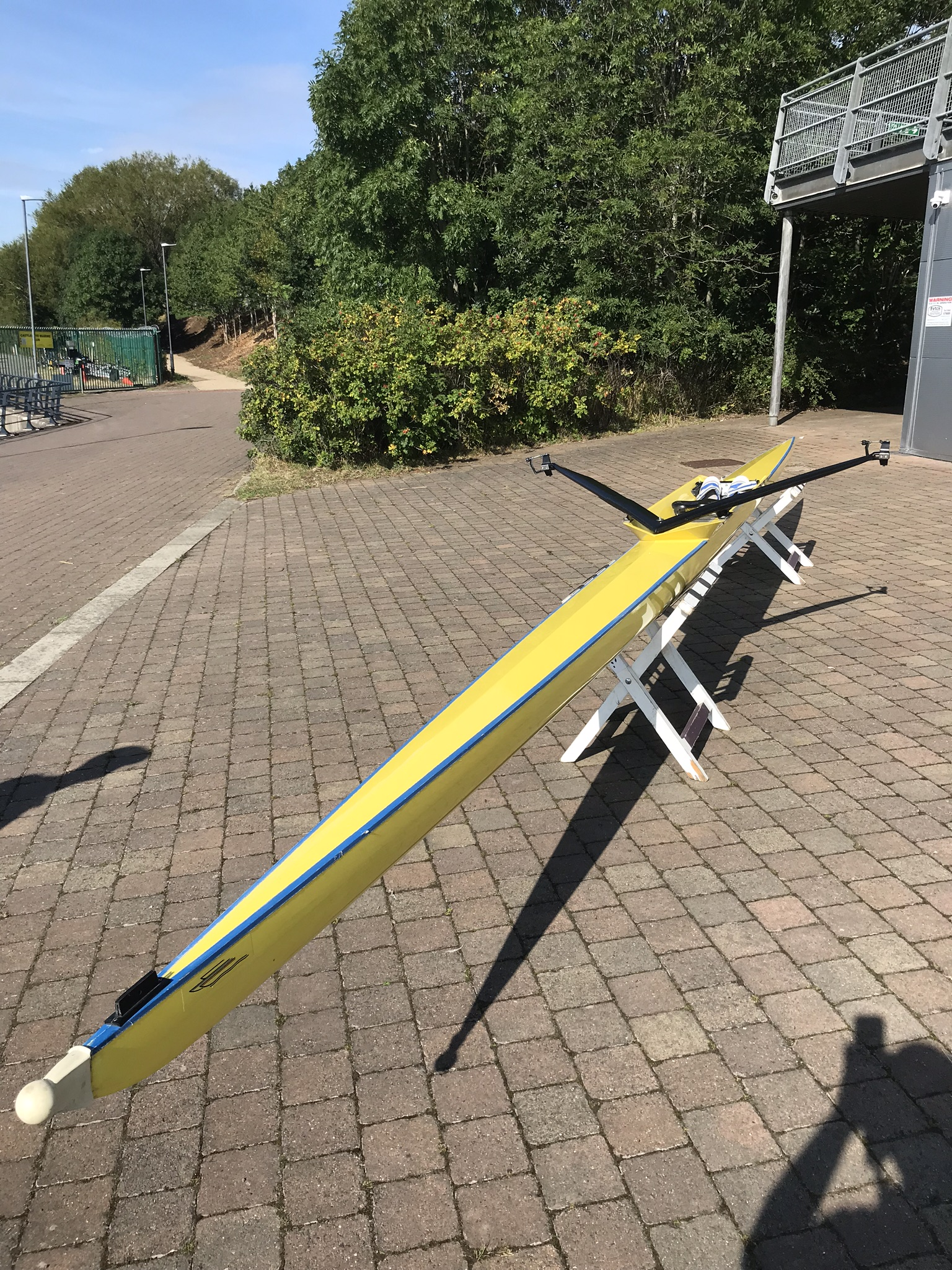Final reduction 16/11/19 - Boat for SALE - Coxed Four changeable to a  Coxed Quad