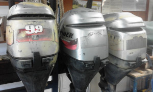 15hp 2 stroke and 15hp 4 stroke engines for sale