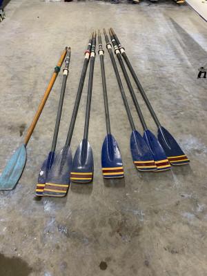 Macon blades - ideal for presentation oars