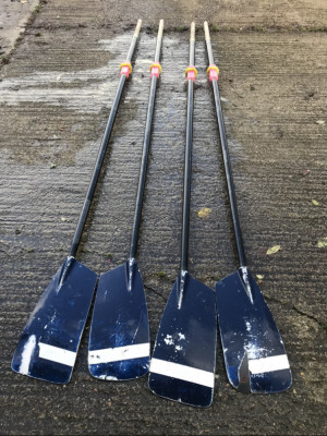 Croker rowing blades - set of 4