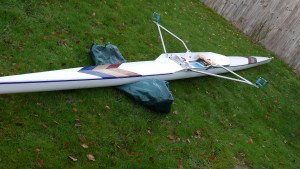 Janousek 1x with Carl Douglas riggers for sale