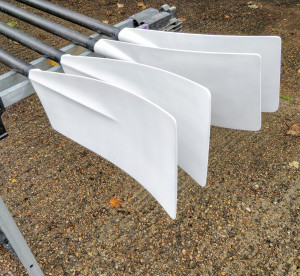 Concept 2 sweep oars, set of 4