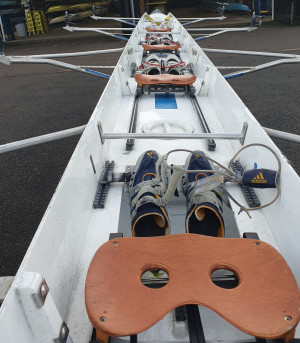 75kg Coxed Quad Scull FOR SALE