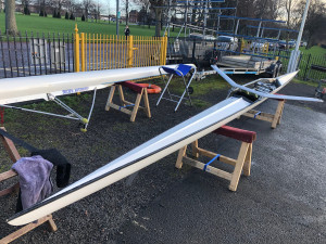 Raymond Sims Single Scull (with Blades) for sale