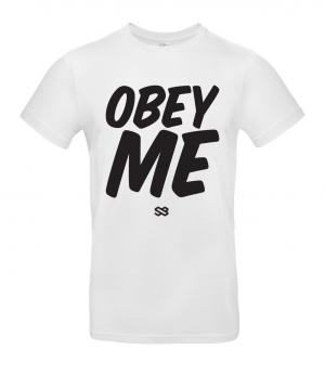 Obey Me T-shirt - For coaches, coxes & captains