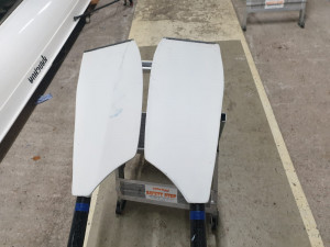 Concept sculling blades