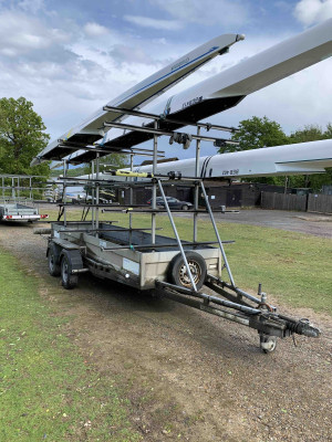 12 space RB2000 DeGraaff trailer