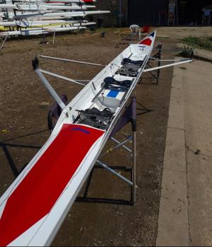2012 Janousek 2x / 2-.  100kg crew weight.