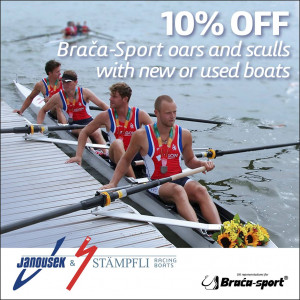Janousek & Stampfli Racing Boats; Boats and blades offer