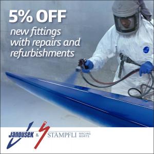 Janousek & Stampfli Racing Boats; Repairs, refurbishments and new fittings offer