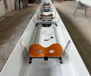 Janousek 4+ (stern coxed) with 3-stay riggers