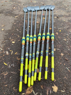 2 x 8 Concept 2 Ultralight Smoothie 2 Vortex Oars for Sale