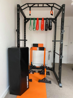 Complete MIRAFIT Power Rack Set Up