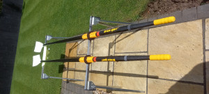 Braca Sculls for sale. As new.