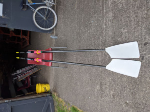 Croker S2 Slick Sculling blades - 286-291cm