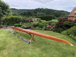 2 - / x Stampfli  'all-cedar' racing shell for sale