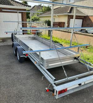 De Graaff RB1200/4 trailer for sale