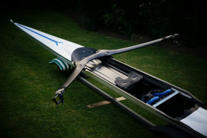 Filippi 1x - this boat got me to the OLYMPICS