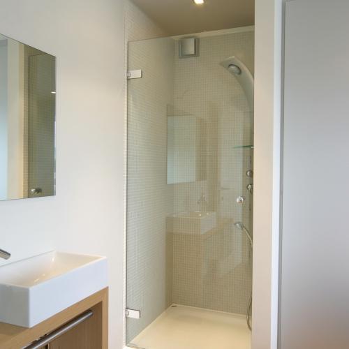 douche deur in helder glas