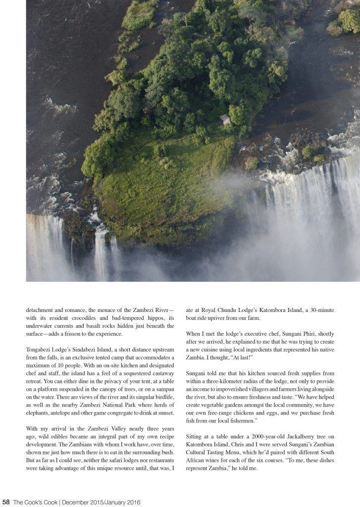 TCC Island Dining Above Victoria Falls 3