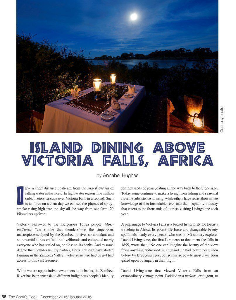 TCC Island Dining Above Victoria Falls Dec 2015 PDF-1