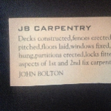 J B CARPENTRY