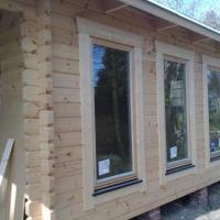 We have been erecting log cabins for over 10 years. They come in all shapes and sizes and we can supply one to your requirements.