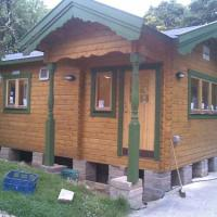 Another cabin that we erected for a school classroom