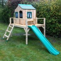 We can erect garden furniture, sheds, fencing, greenhouses, play houses and wooden structures. This is a recent rated people job.