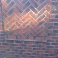 Garden wall in calderstones