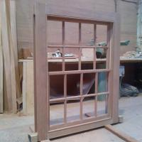 Hardwood box sash window