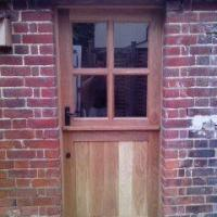 oak stable door and frame