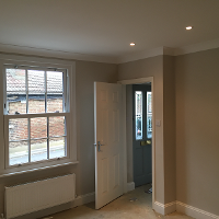 Complete Dinning Room Except flooring Thames Ditton Mark