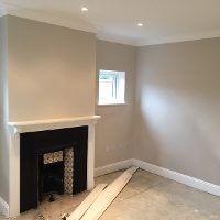 Complete Living Room Except flooring Thames Ditton Mark