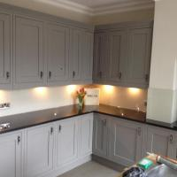 Splash backs supplied and fitted to customer requirements.