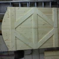 A pair of gates I was recently asked to make and fit. October 2011