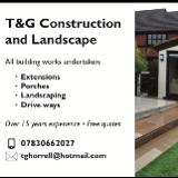 T & G Construction and Landscaping