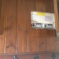 Replacement of Consumer Unit which had cupboard built around it.