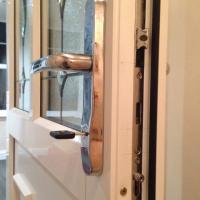 High Security Police Reccomended Handle Fitted To Upvc Door