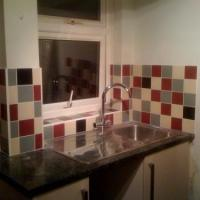 This is a kitchen I tiled once the 