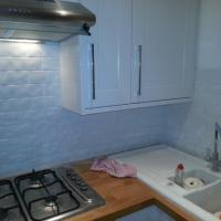 Recent tiled kitchen