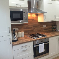Traditional fitted kitchen in Glasgow