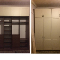 Traditional bespoke fitted bedroom wardrobes in Glasgow