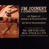 Jm joinery and construction