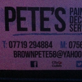 Pete's painting and decorating service limited