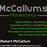 McCallums Maintenance