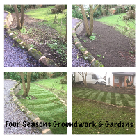 Four Seasons Groundwork And Gardening Services Examples Of Work In Oldham